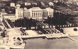 Razglednica - Hotel Palace nekoč