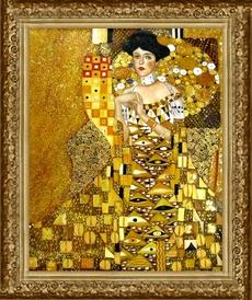 Gustav Klimt: Portret Adele Bloch-Bauer 1