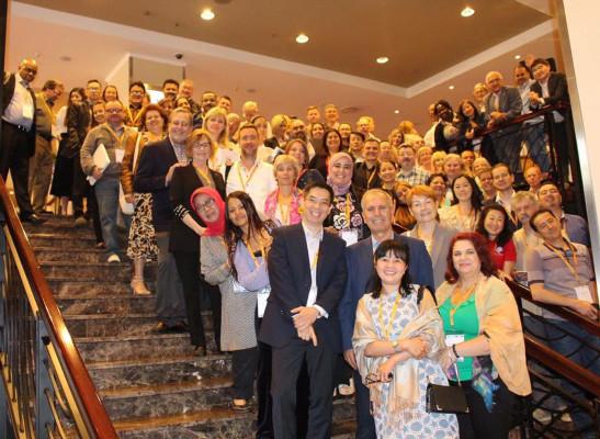 Udeleženci z vseh celin na Konferenci o KML v Frankfurtu