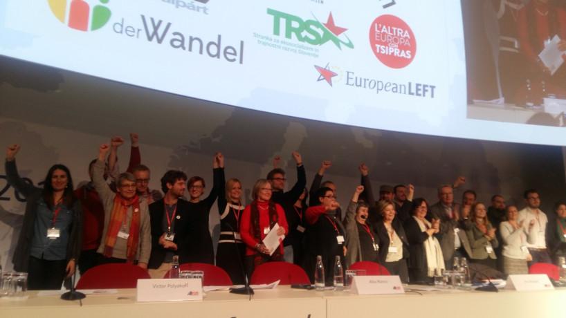 17.12.2016 Postali smo polnopravni člani Evropske levice