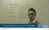 Prikazovanje vsebin s pomočjo Java Scripta