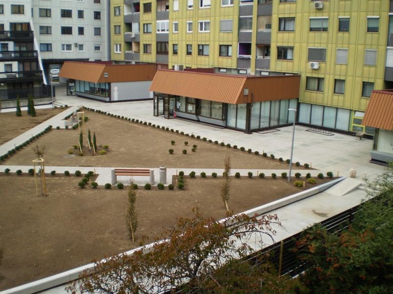 STANINVEST d.o.o., Maribor: sanacija ploščadi KARDELJEVA