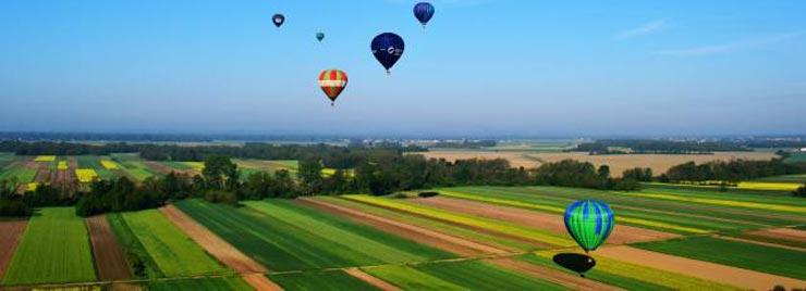 Nepozabni panoramski pogledi iz zraka