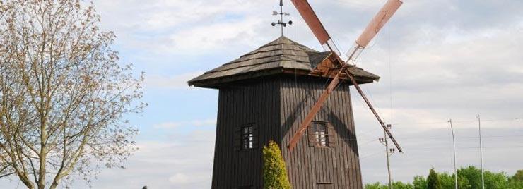 Mlin na veter na Stari Gori