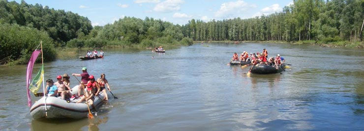 Užitki na reki Muri