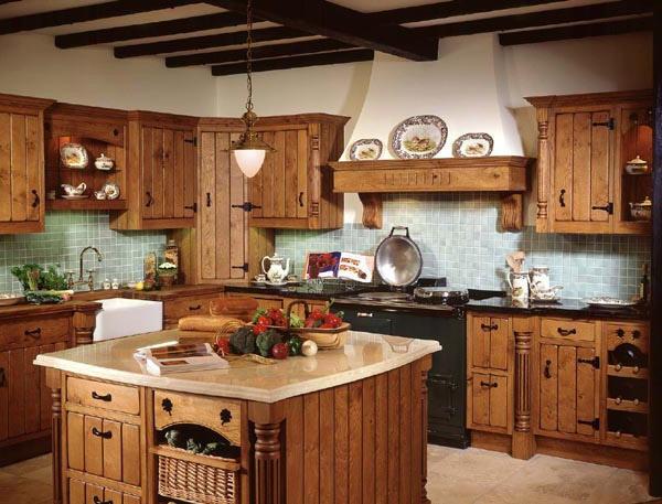 Country Style Kitchens 2013 Decorating Ideas: PODEŽELSKE KUHINJE