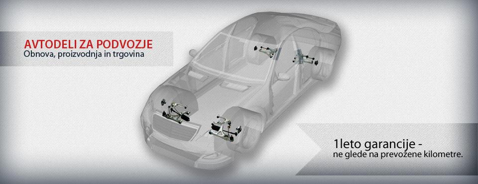 Obnova podvozja - avtodeli za podvozje Prekom
