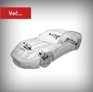 Prekom avtodeli za podvozje Ferrari -  obnova, trgovina, proizvodnja