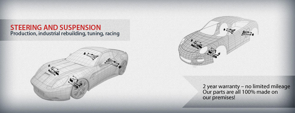 Prekom steering and suspension parts - new, rebuild, diy; Porsche, Ferrari, Racing, Vintage