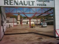 AVTOKOLETNIK d.o.o., Maribor: ureditev okolja in izgradnja avtosalona Nissan ter avtosalona za rabljena vozila