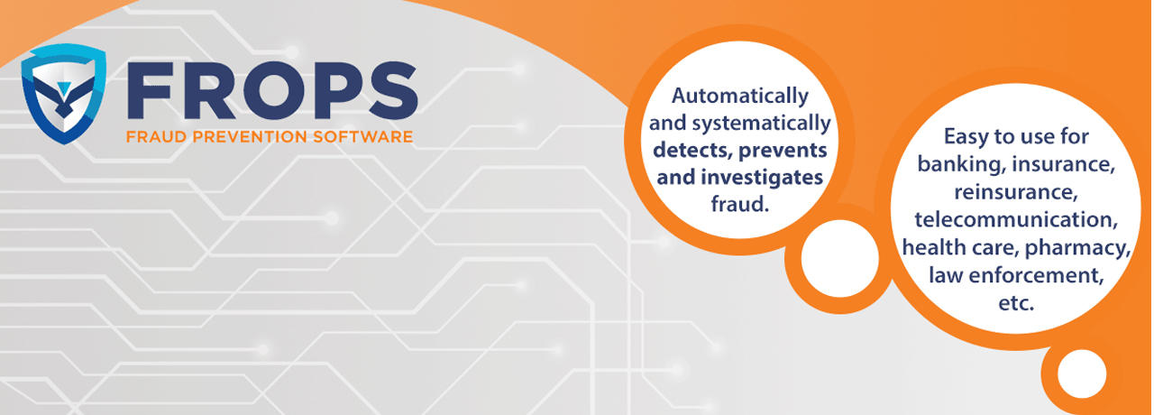 FROPS Detecting, preventing and investigating fraud Read more