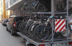 Trailer for 24 bikes