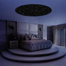 Zvezdno okno v spalnici
