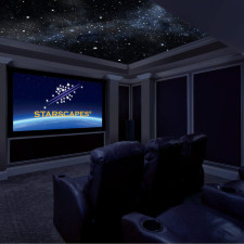 Zvezdna panorama v hišnem kinu