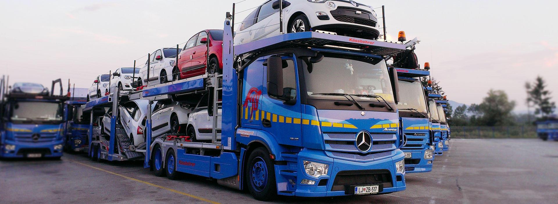 Prevozi vozil Nudimo vam prevoze vseh vrst vozil. Preberi več