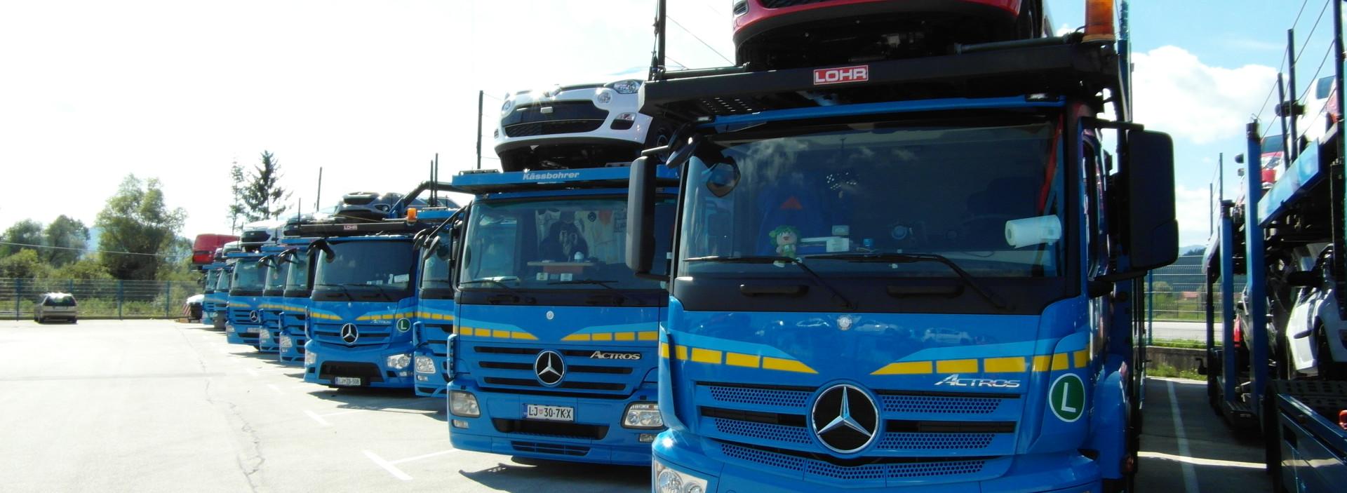 Nova vozila V podjetju smo posodobili vozni park za kvalitetnejše storitve prevozov. Preberi več