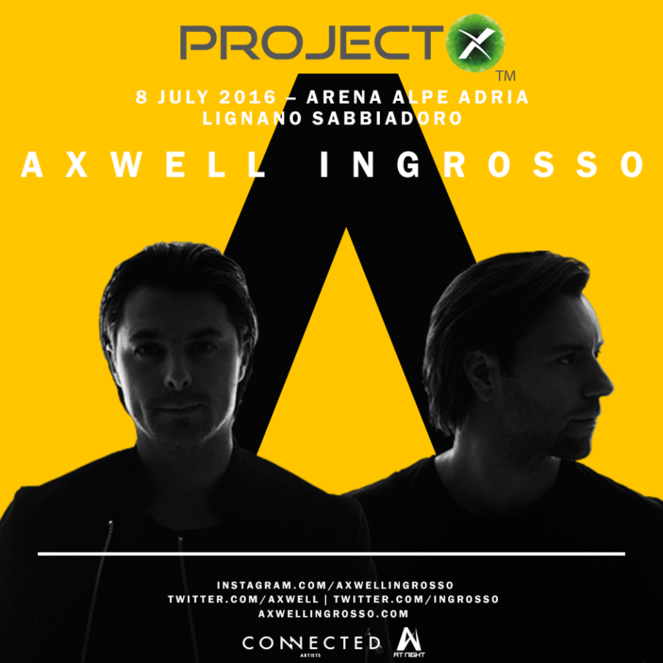 Axwell Ingrosso Project X