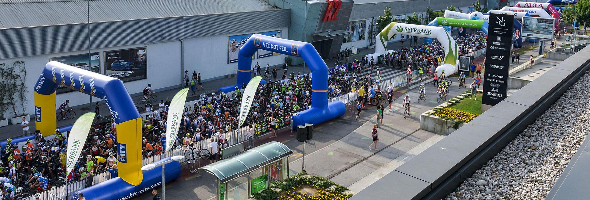 Maraton Franja BTC City 2016 10.-12. junij 2016