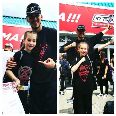Ana Zajc - 3. mesto, hiphop solo mladinke (IDO evropsko prvenstvo 2016)  Pridruži se nam