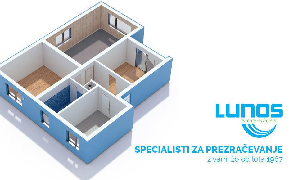 Svetujemo LUNOS - Prezračevalni sistem brez konkurence Gradite novo hišo? Ste zamenjali okna, izboljšali fasado? Ne pozabite na prezračevanje!  Naši svetovalci vam s strokovno obravnavo pomagajo uresničiti vaše želje. Preberi več