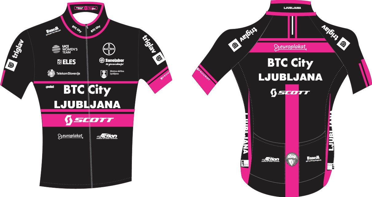 BTC City Ljubljana Women Elite cycling suit