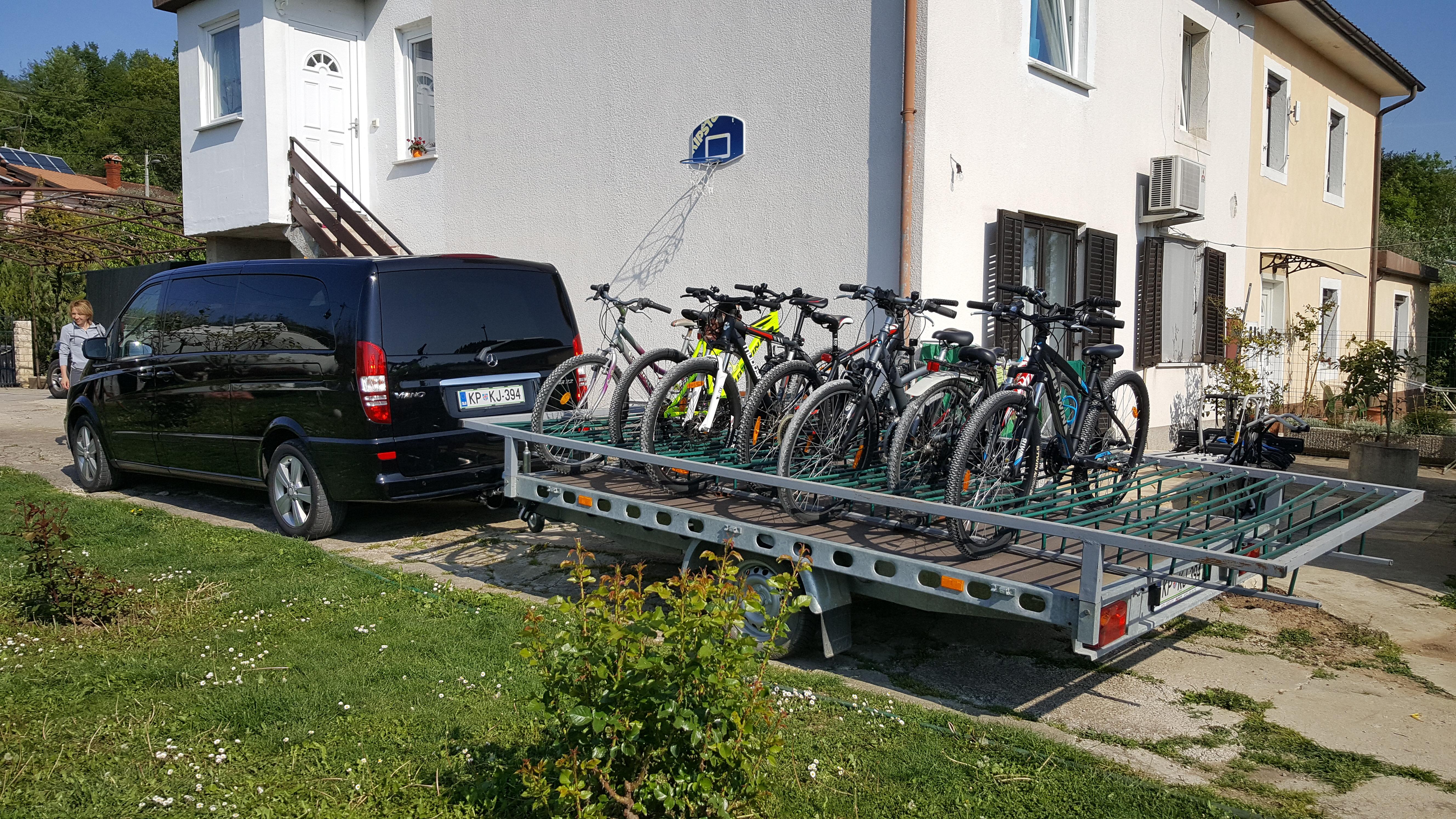 Transfer troller 20 bikes