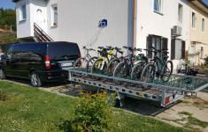 Trailer for 20 bikes